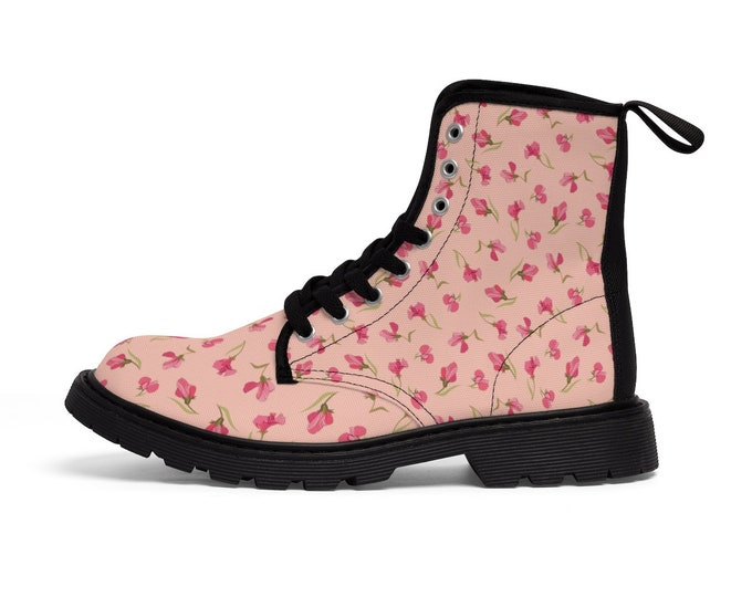 Sweet Pea Combat Boots