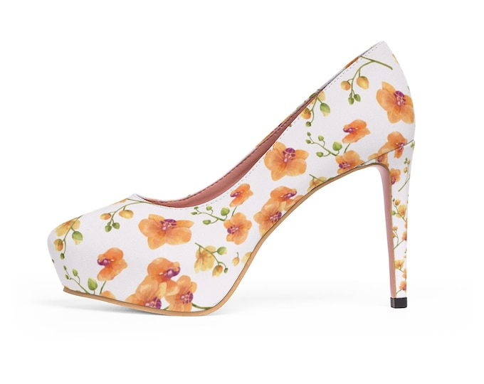 Wild Orchid Platform Heels