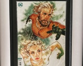 Aquaman Framed Comic Book...
