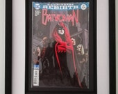 Framed Comic Book Batwoma...