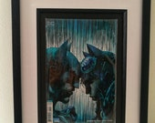 Framed Comic Book  Batman...