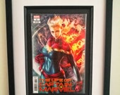 Framed Comic Book The Lif...