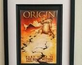 Origin 3 Framed Comic Boo...