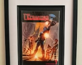Vintage Framed Comic Book...
