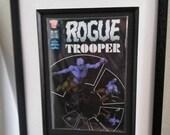 Framed Comic Book Rogue T...