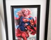 Framed Comic Book Supergi...