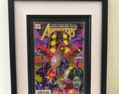 Framed Comic Book Avenger...