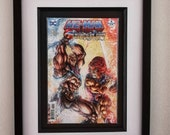 Framed Comic Book He-Man ...