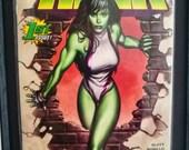 Vintage She-Hulk #1 Frame...