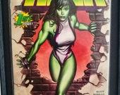 She-Hulk #1 Framed Comple...