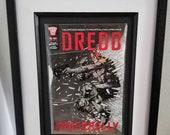 Framed Comic Book Dredd U...
