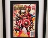 Framed Comic Book Marvel ...
