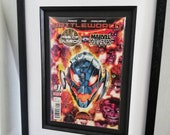 Framed Comic Book Age of ...