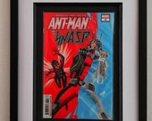 Framed Comic Book Ant-Man...