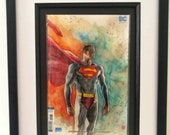 Framed Comic Book  Superm...