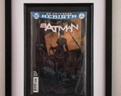Framed Comic Book Batman ...