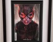 Framed Comic Book Catwoma...