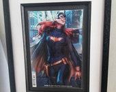 Batgirl Framed Comic Book...