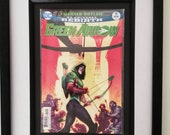 Framed Comic Book Green A...