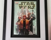 Framed Comic Book Star Wa...