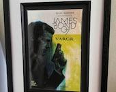 Framed Comic Book James B...