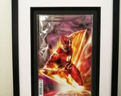 Framed Comic Book Flash #...