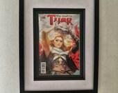 Framed Comic Book Thor #7...