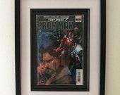 Framed Comic Book Tony St...