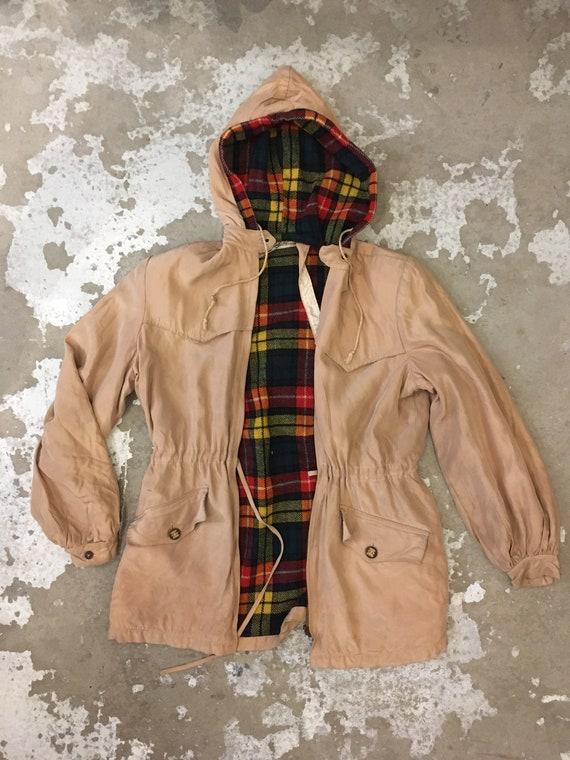 Rare 1940s Gerhard Kennedy Anorak - Beige Jacket /