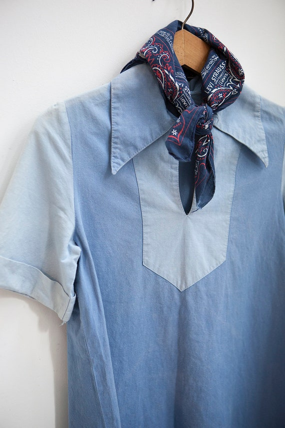 1930's / 1940's Faded Work Shirt - Rosie the Rivet