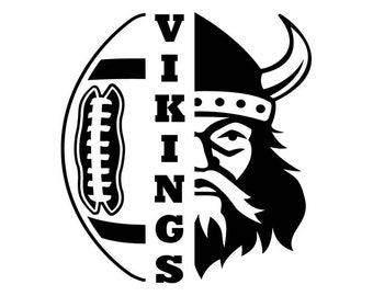 Viking Football Etsy