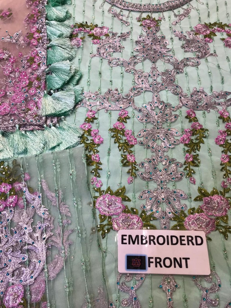 made to order sharara gharara lehenga  bridal dress embroidered salwar kameez fancy Pakistani dress Indian Bengali Eid desi ladies suit