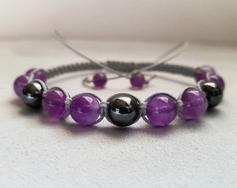 Amethyst Bracelet Jewelry Birthday Gifts For Mother In Law Gift Girlfriend Mom Her Mothers Day Him