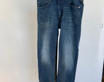 Levi's 505 blue Jeans in good condition. Size 38 x 32. Free Priority Mail Shipping