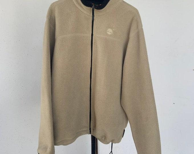 Timberland zip up fleece sweatshirt size large. Free shipping