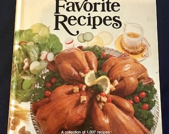 Vintage 1979 Better Home and Gardens All Time Favorites CookBook 1st Printing. Over 1000 recipes. Free Shipping