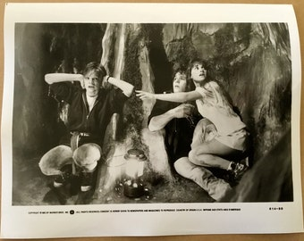 Original Goonies Movie Promo Black and White Photo 8 x 10 from Press Pack released by Warner Brothers to magazines etc for publication 1985