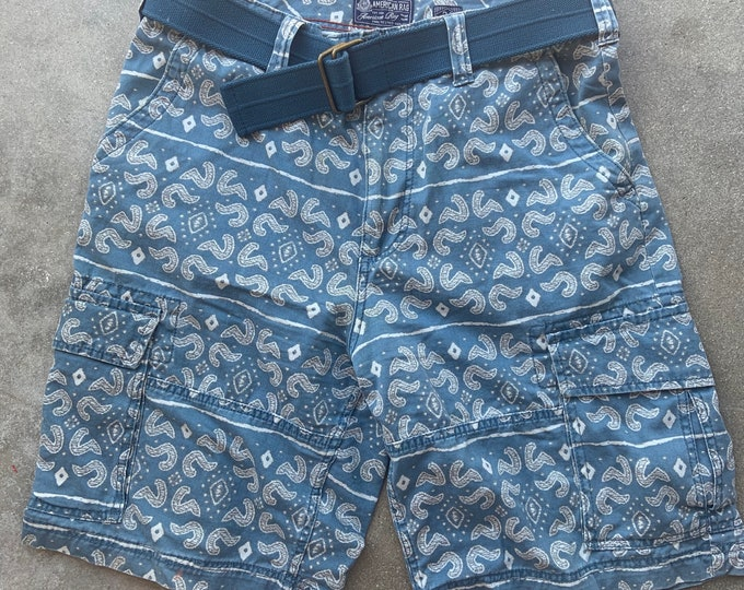 """Men's American Rag Cotton Shorts. Cool, soft and comfortable. Size 34"""" Free Priority Mail Shipping in the USA"""