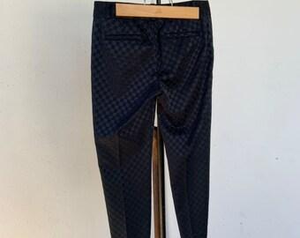 Banana Republic Hampton luxury pants with black checker board design. Size 2. Free shipping