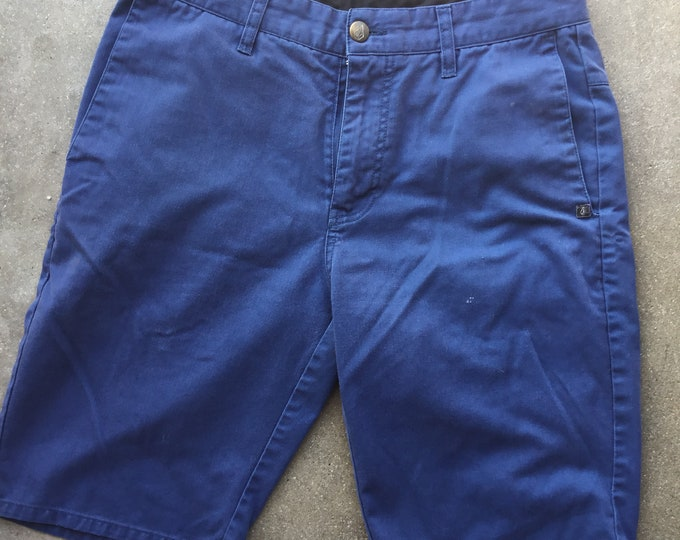 Volcom Blue Men's Sorts, Size 28