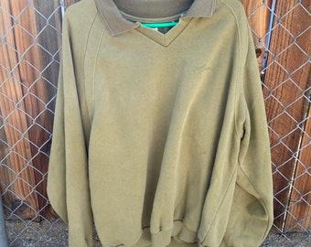 Rare vintage 1990s Volcom collared sweatshirt. Free Shipping