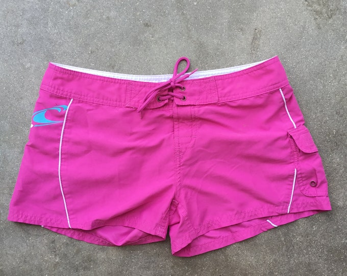 "O'Neill, Pink Woman's Board-shorts, size 32"""