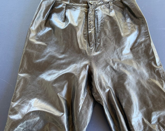 Vintage Leather Pants in great shape. Size 11/12.  Free shipping