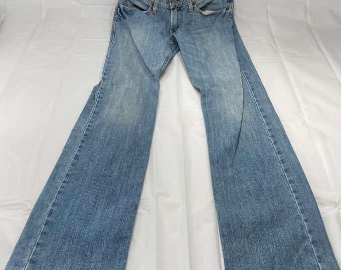 Vintage American Eagle Outfitters Womens Low Rise Slim straight jeans. Size 30 by31. Free shipping