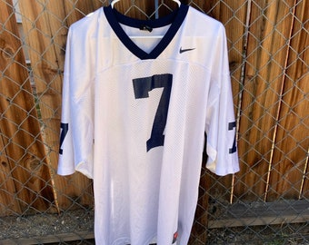 Nike Football Jersey number 7 blue and white mens XXL. Free shipping