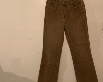 Vintage Polo by Ralph Lauren corduroy jean style pants in very good condition. Size 34 by 34. Free shipping.