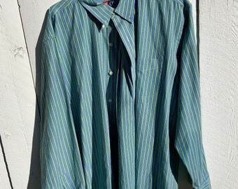 Vintage Chaps by Ralph Lauren XX Large Oxford dress shirt. Deadstock Great vintage condition includes Free Shipping