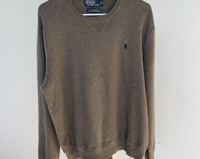 Vintage Polo by Ralph Lauren cotton sweater in great shape.  Free shipping