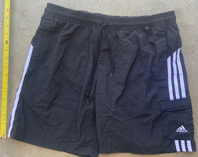 Men's Adidas Athletic Swim shorts in great shape. Free Shipping