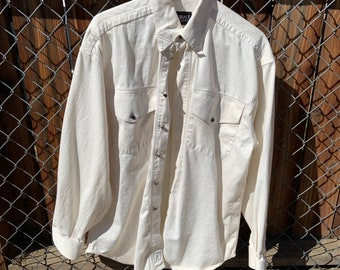 Mens Versace button down shirt in new condition. Free shipping